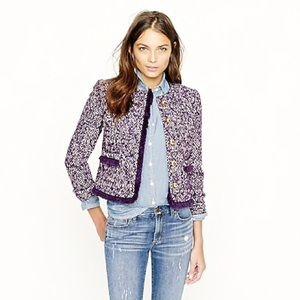 J Crew Lady jacket in corkscrew tweed 8